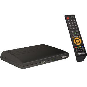 RECETOR TV SATELITE DIGITAL FTA ZAS HD TELEVES
